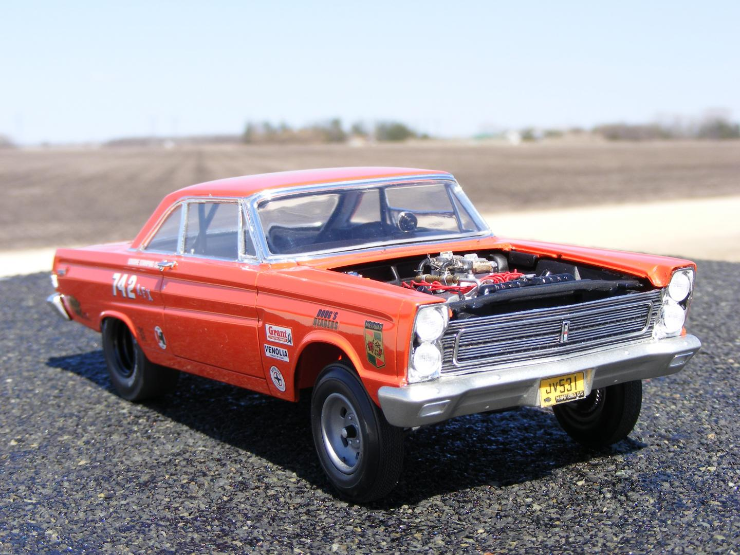 Lock Out Kit For Cars >> Moebius 1965 Cyclone A/FX 427 SOHC - Drag Racing Models - Model Cars Magazine Forum