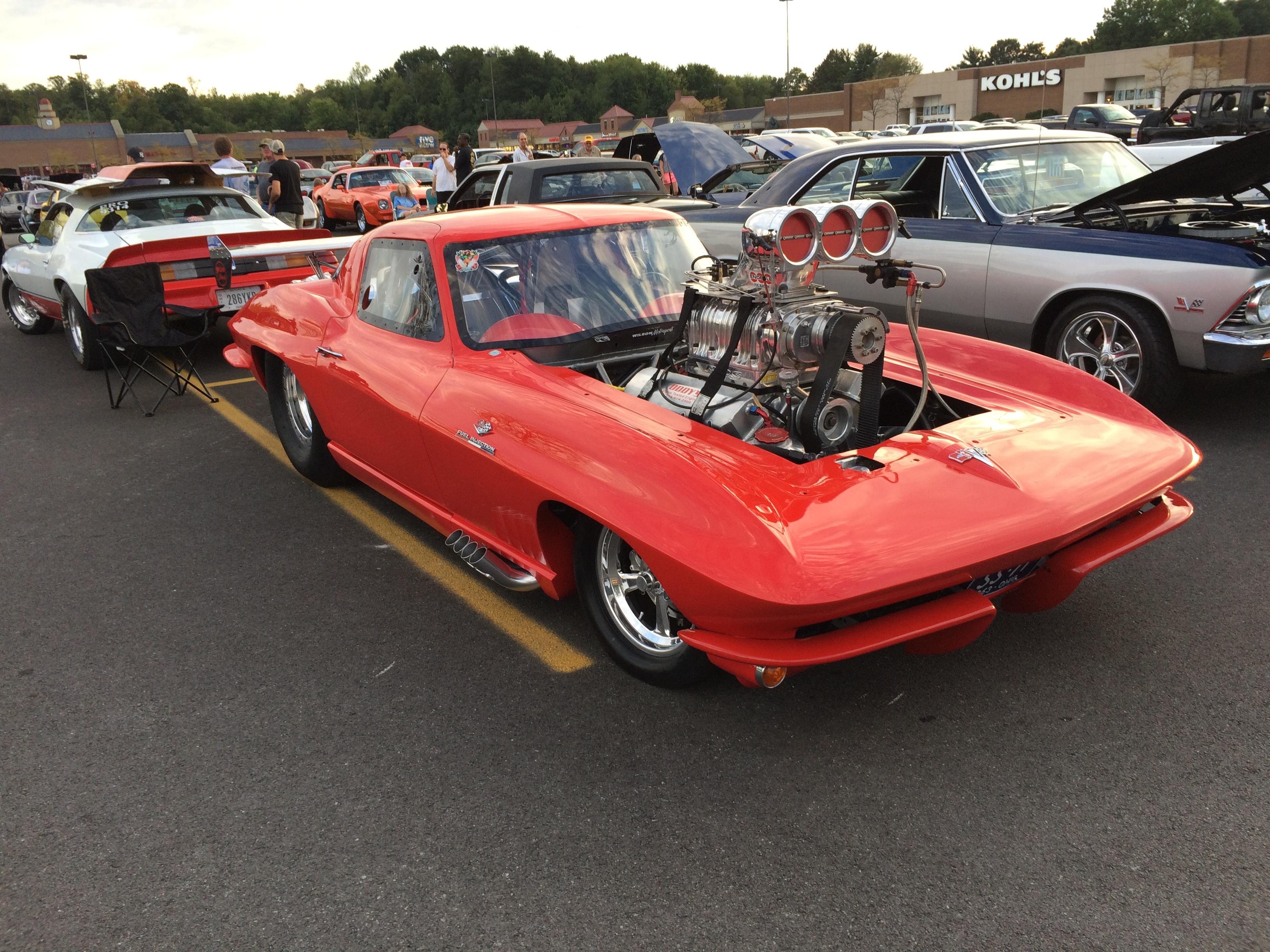 1963 blown corvette split window coupe 1 1 car reference for 1963 corvette split window model car