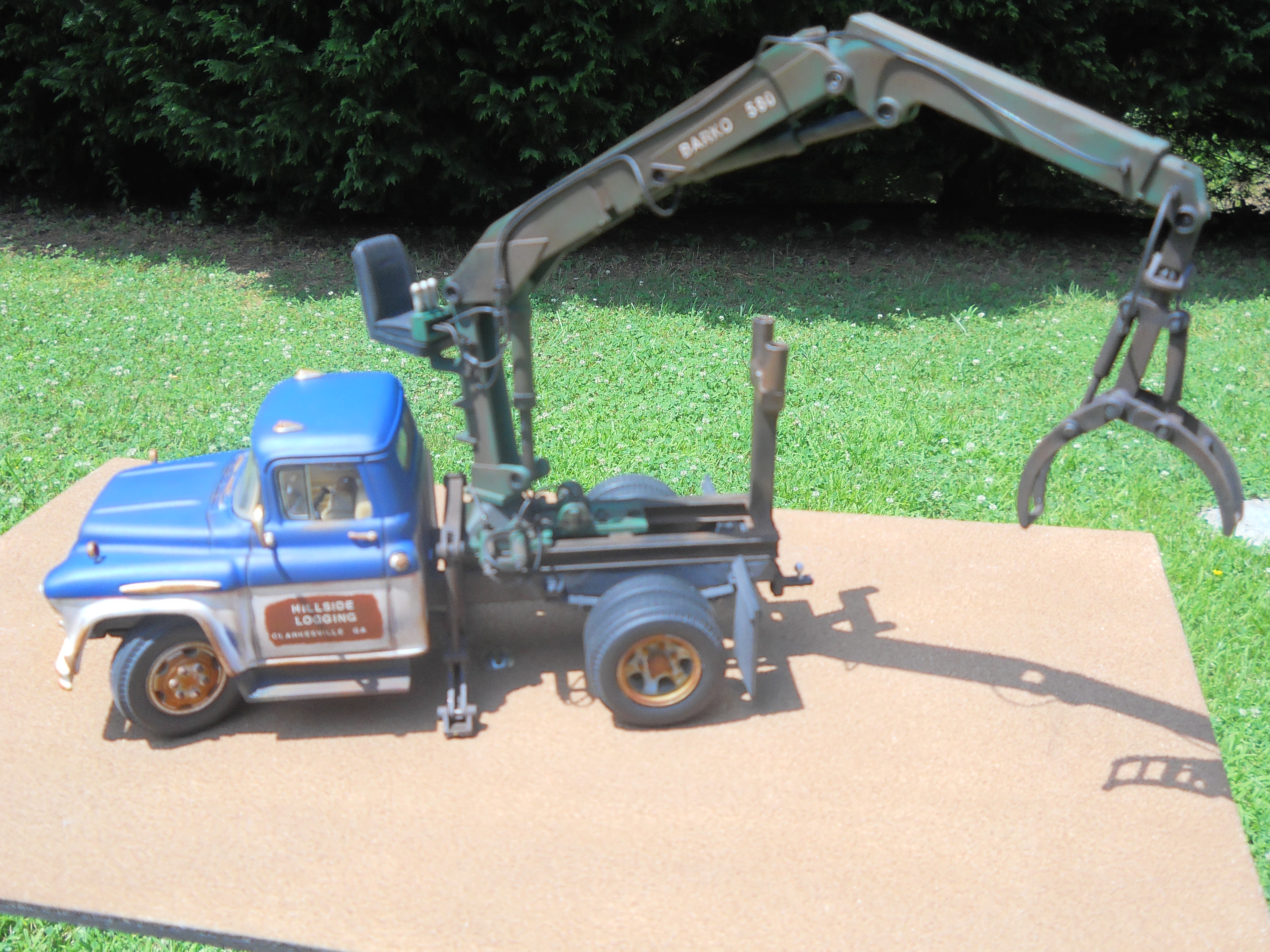 Old Chevy Knuckle Truck Diecast Corner Model Cars Magazine Forum
