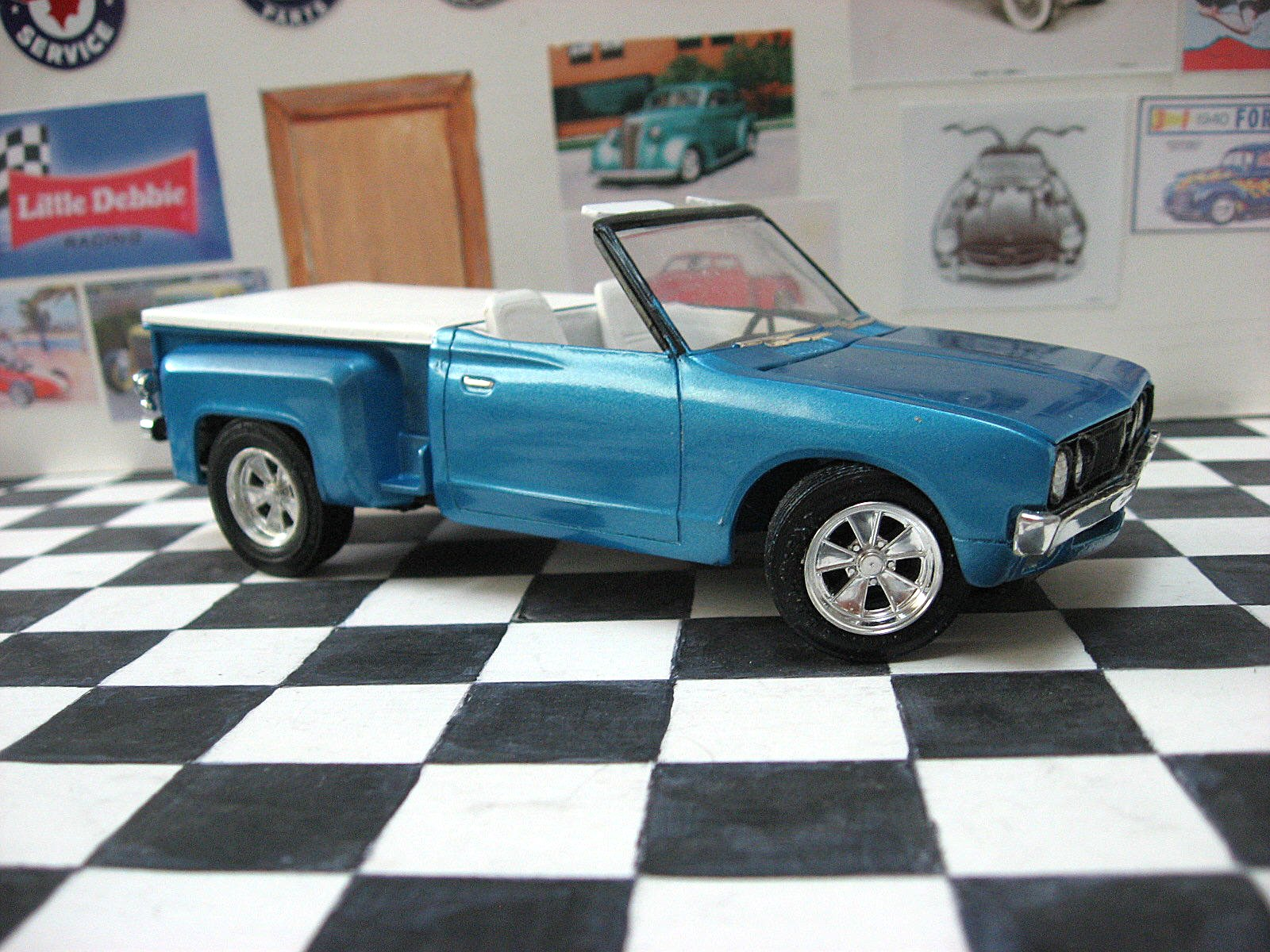 mpc 1975 datsun pickup page 2 truck kit news reviews model cars magazine forum. Black Bedroom Furniture Sets. Home Design Ideas