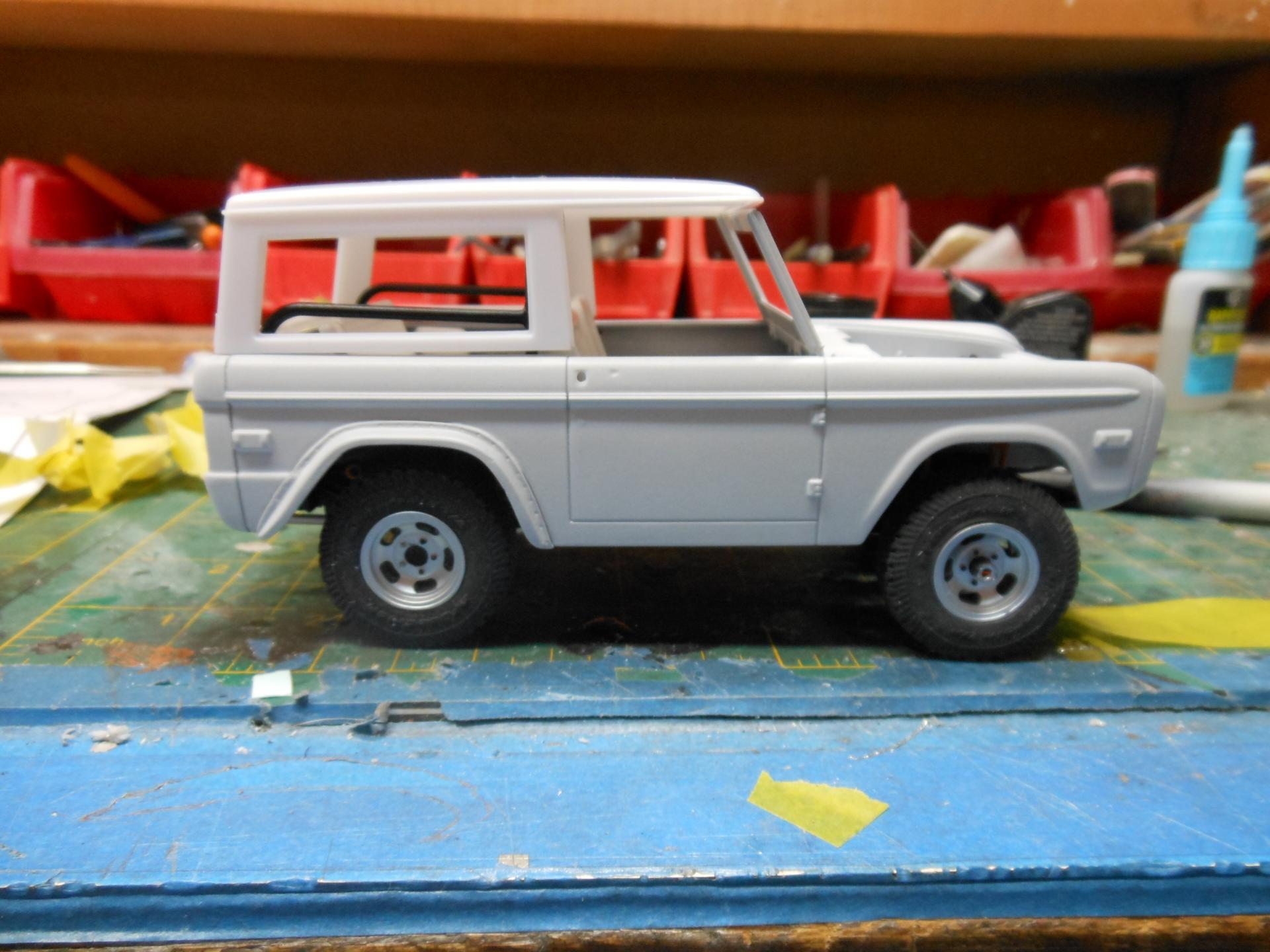 2017 Ford Bronco >> Revell Ford Bronco - On the Workbench: Pickups, Vans, SUVs ...