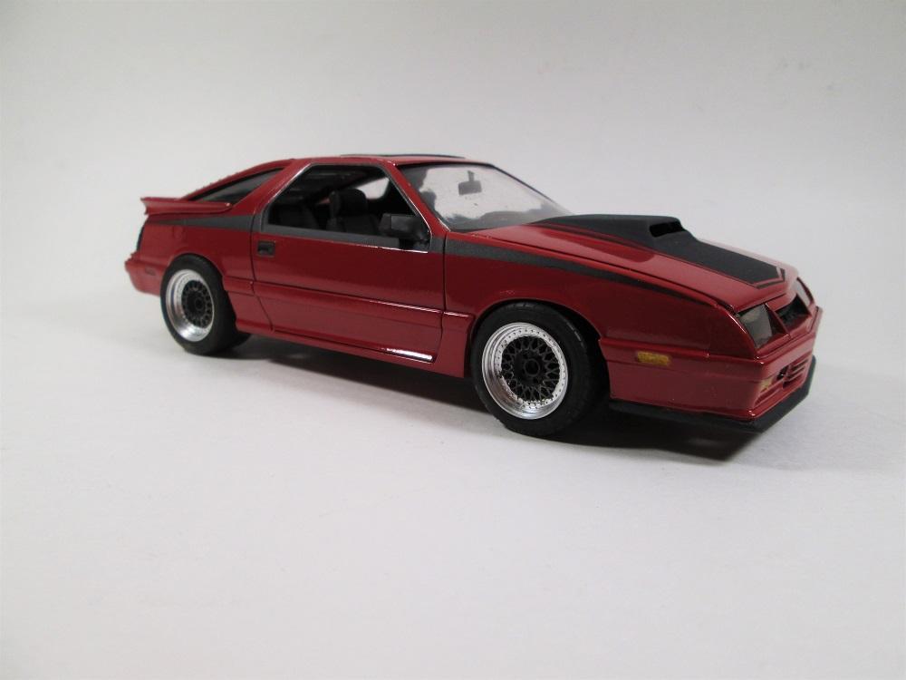 1986 Dodge Daytona Turbo Z Under Glass Model Cars Magazine Forum
