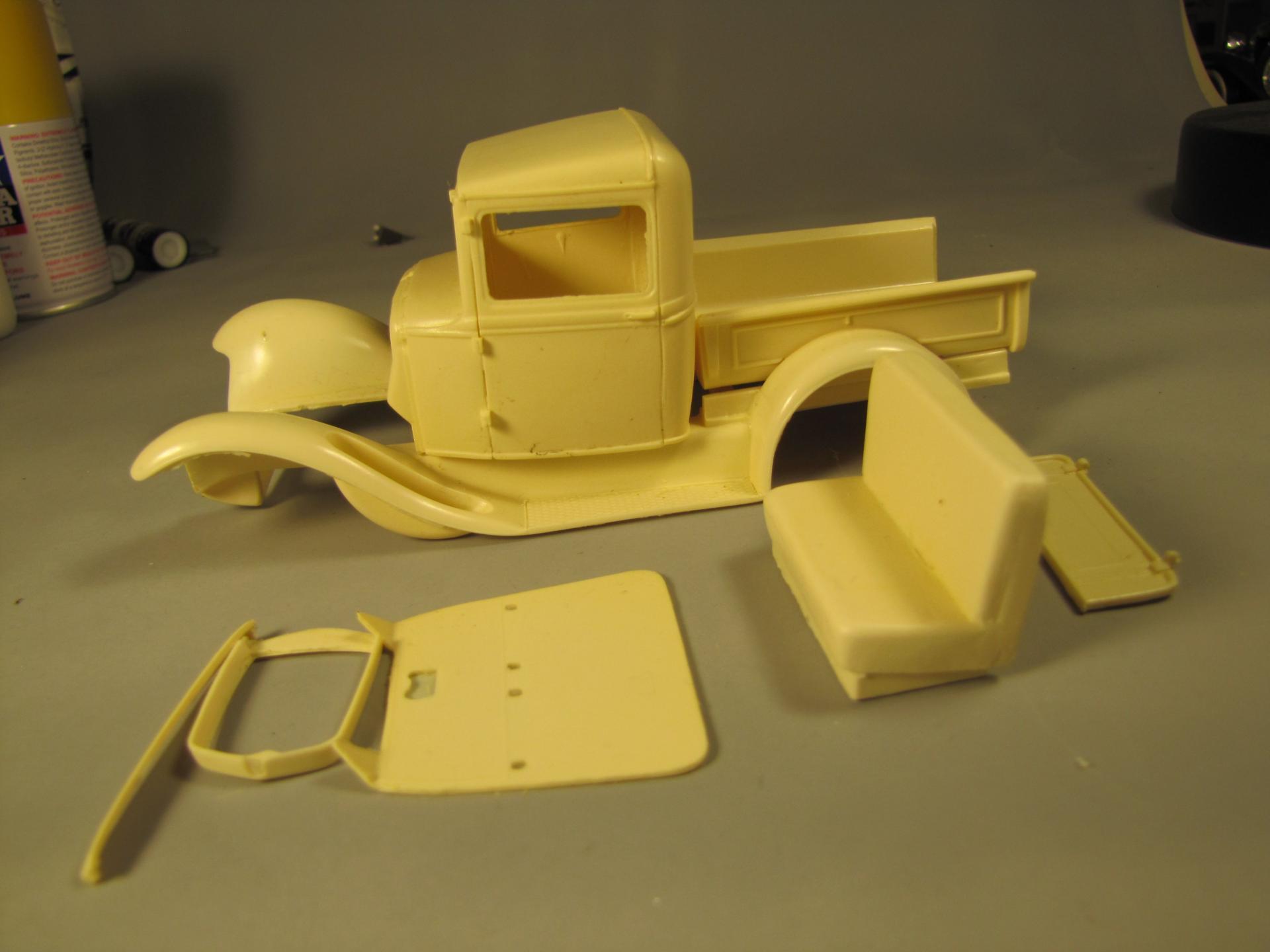 1930 Model A Ford pickup resin transkit.jpg