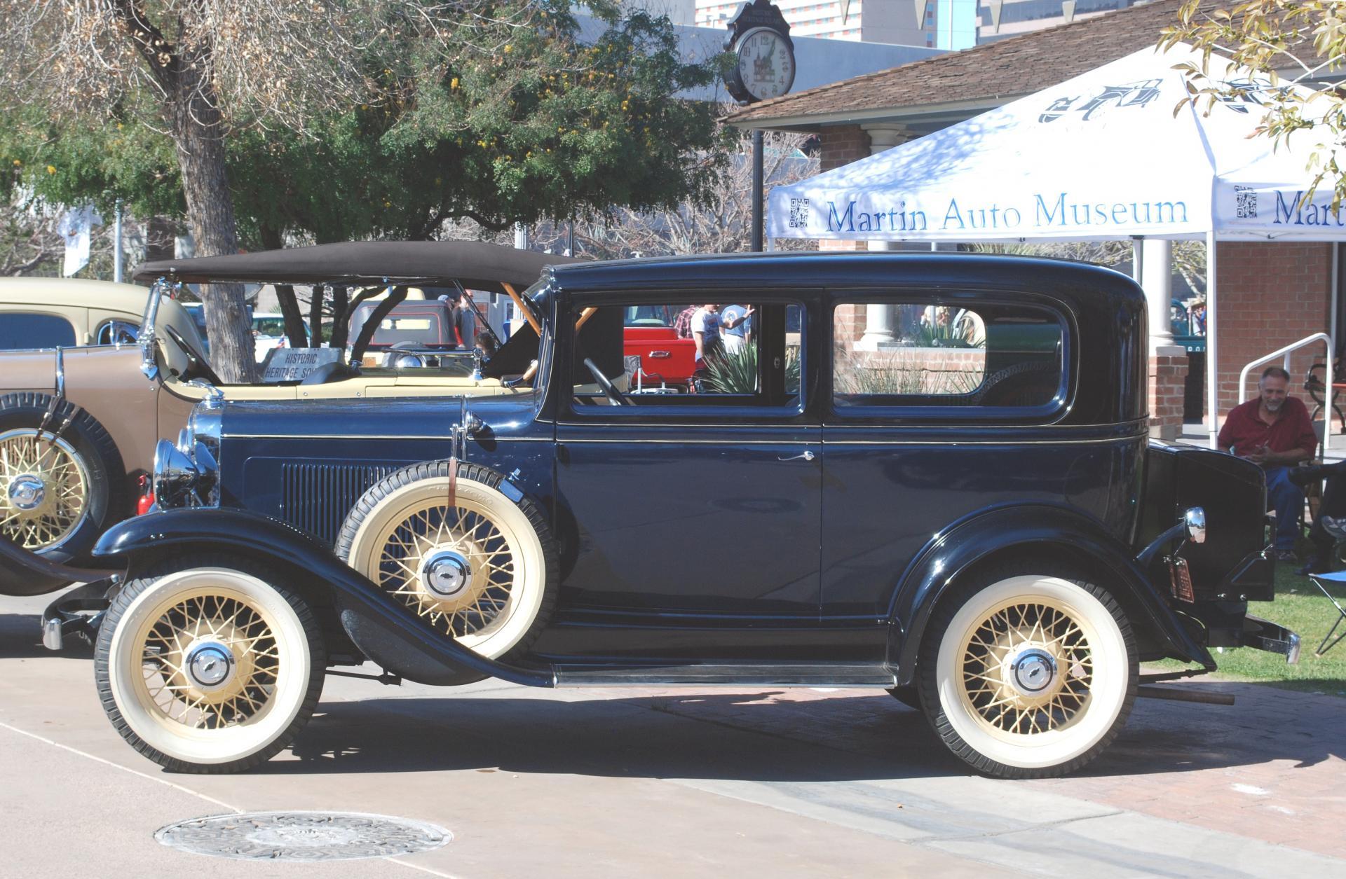 Chevrolet 1931 2dr sedan side lf.JPG