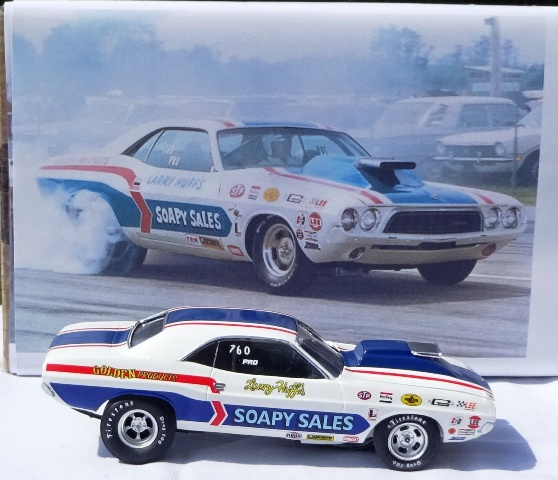 Soapy Sales Challenger Funny Car