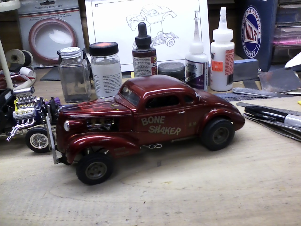 Used Cars Sioux City >> Chopped 37' Chevy gasser - Drag Racing Models - Model Cars ...