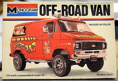 Vintage-1977-Monogram-4x4-Chevy-Off-road