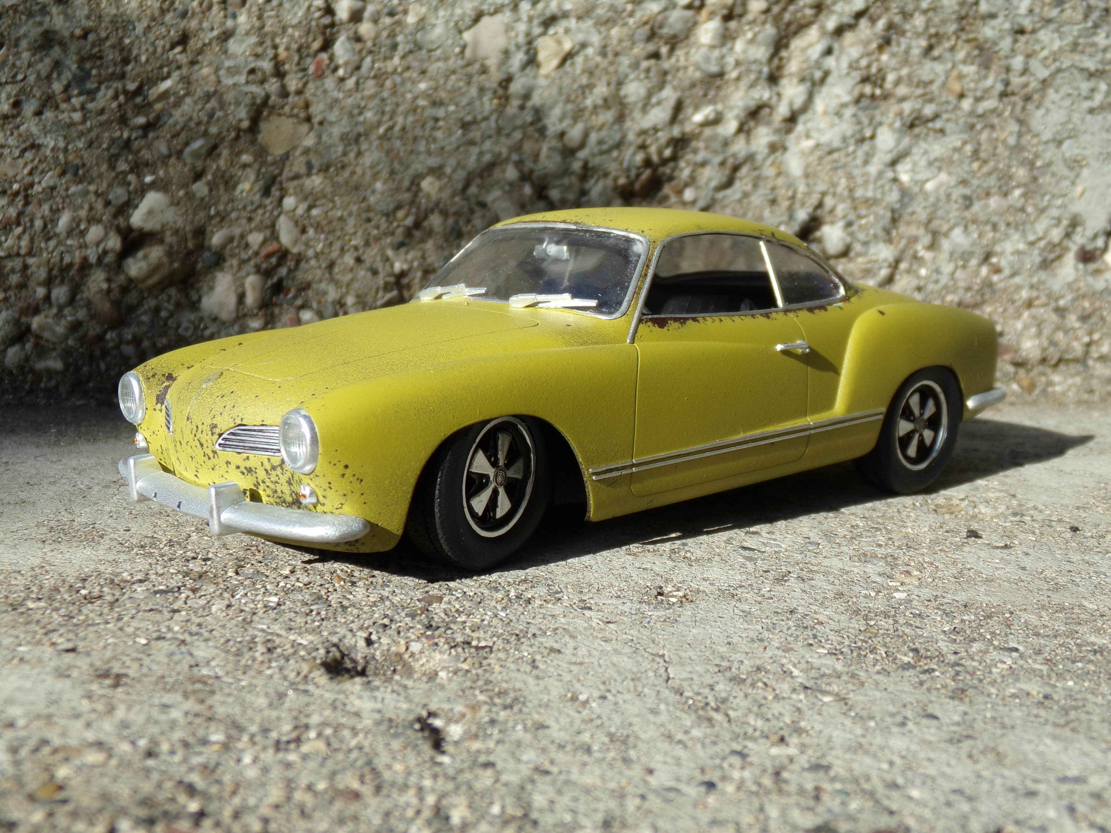 Appendectomy Therapy Pt 1 Karmann Ghia Under Glass Model