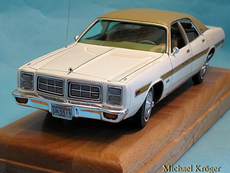 Mt Airy Dodge >> 1978 Dodge Monaco Brougham 1/25 - Under Glass - Model Cars ...