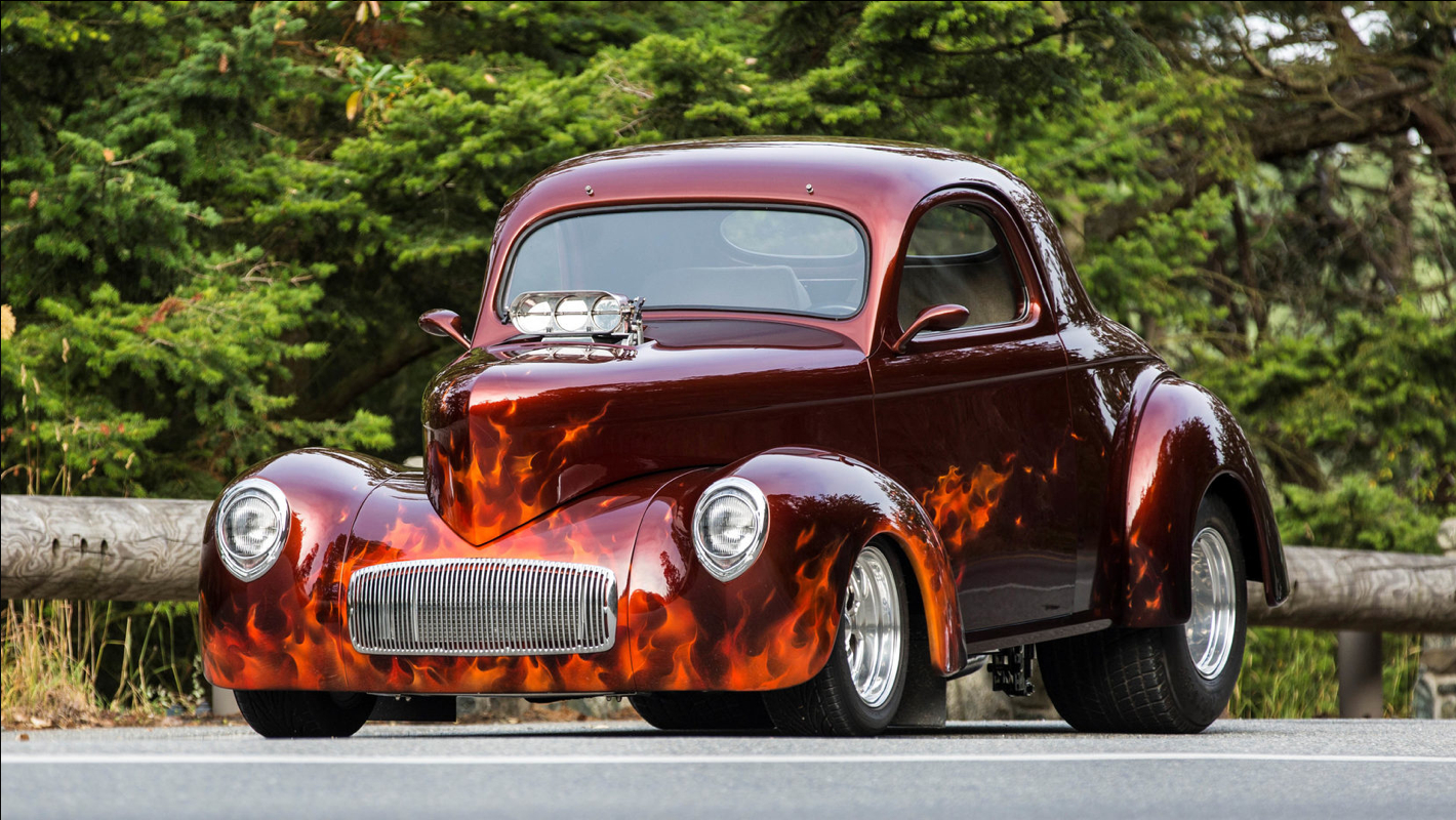 1941 WILLYS COUPE STREET ROD:Some Like It Hot:Killer Paint 1 Small.jpg