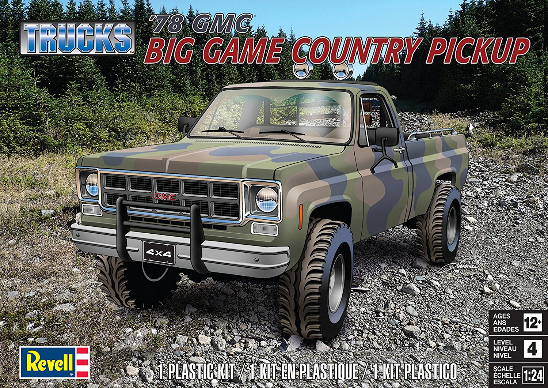 1/24 Revell '78 GMC 4x4 Pickup - Truck Kit News & Reviews ...