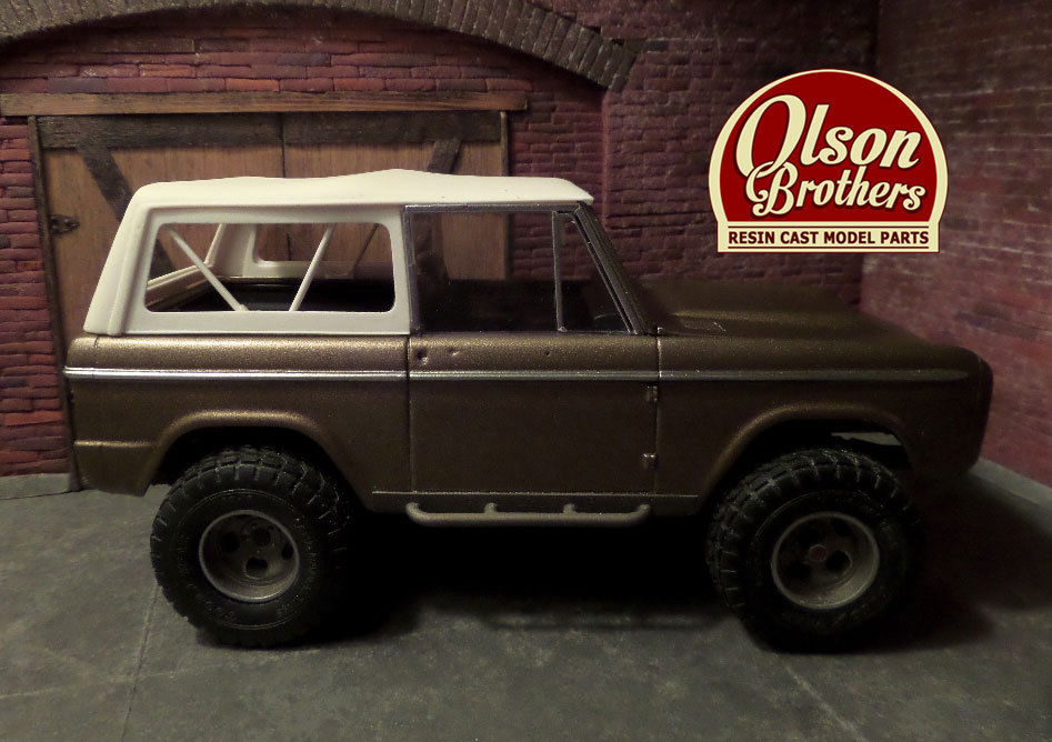 Olson Brothers Resin Truck Aftermarket Resin Model Cars
