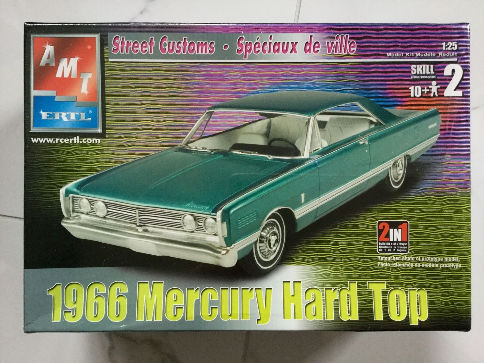 1 25 Amt 1966 Mercury Hardtop Car Kit News Reviews Model Cars