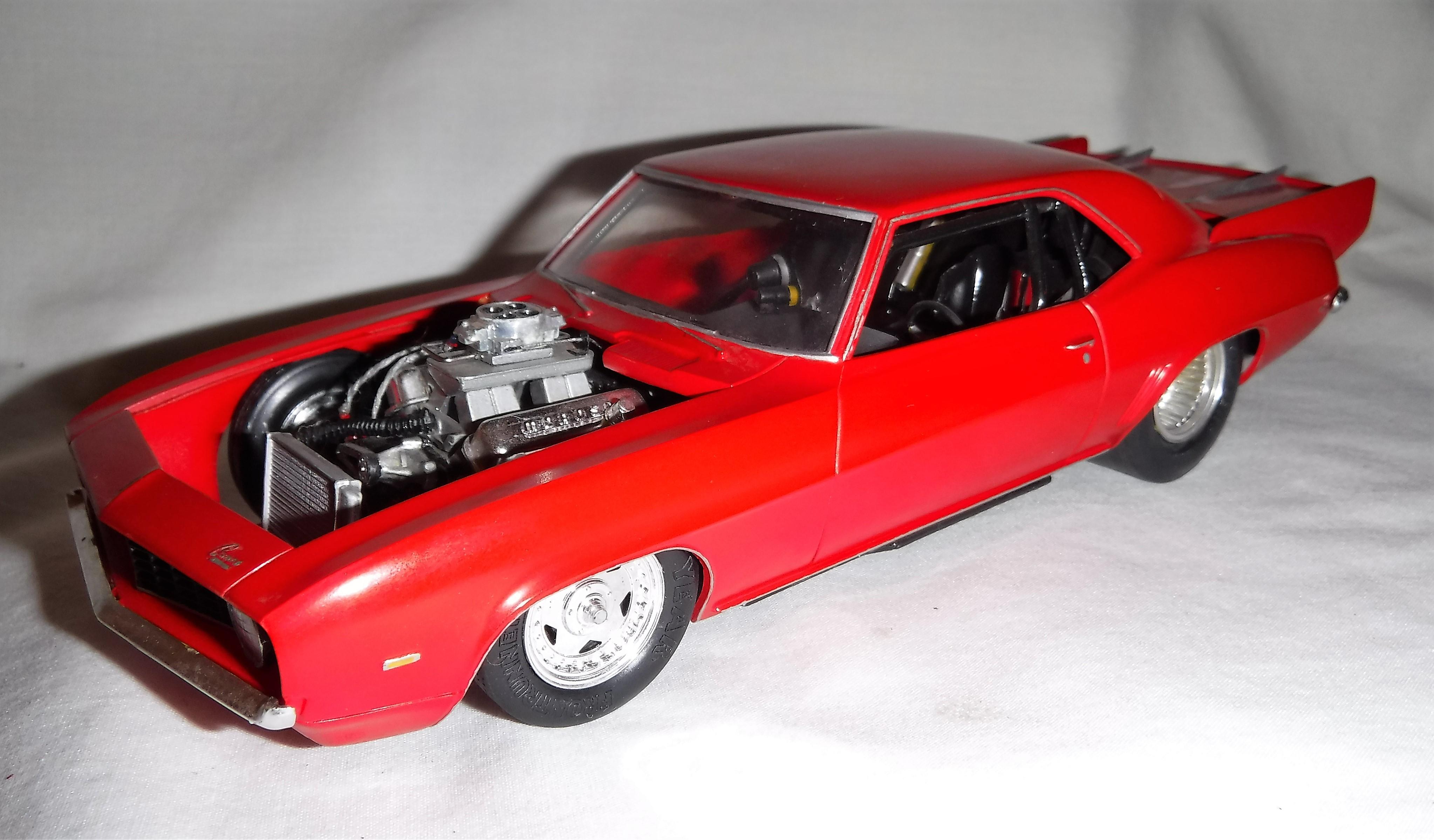 Drag 1969 Camaro - Drag Racing Models - Model Cars Magazine Forum