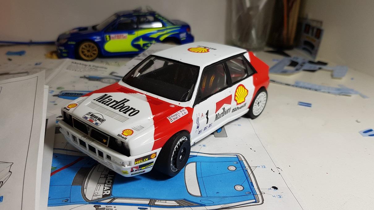 Lancia Super Delta  1992 Wrc Makes Champion U0026 39