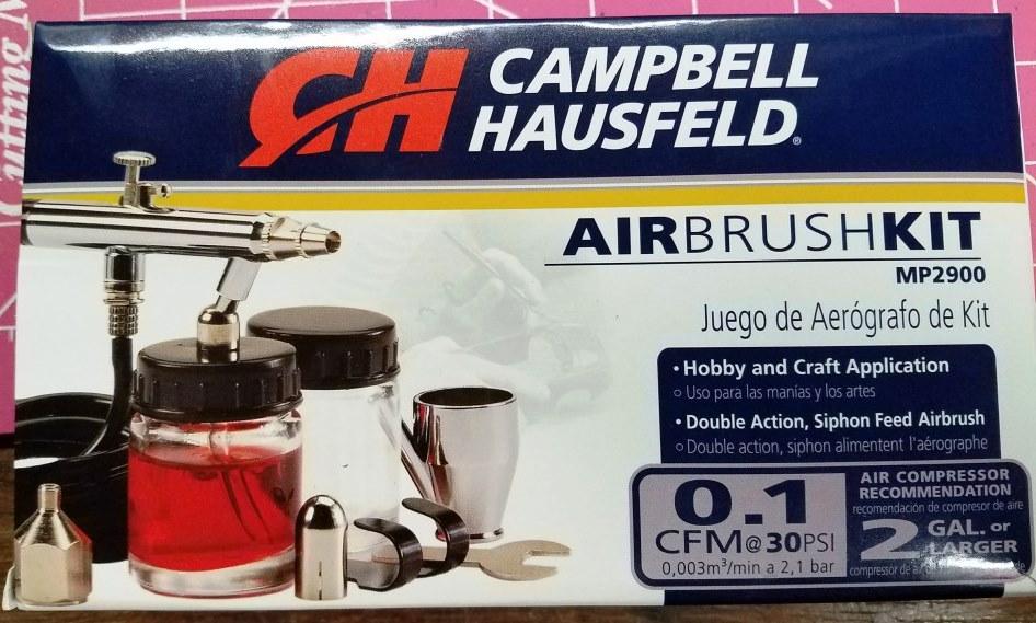 Campbell Hausfeld Airbrush Kit (tested 4/22/18) - Model