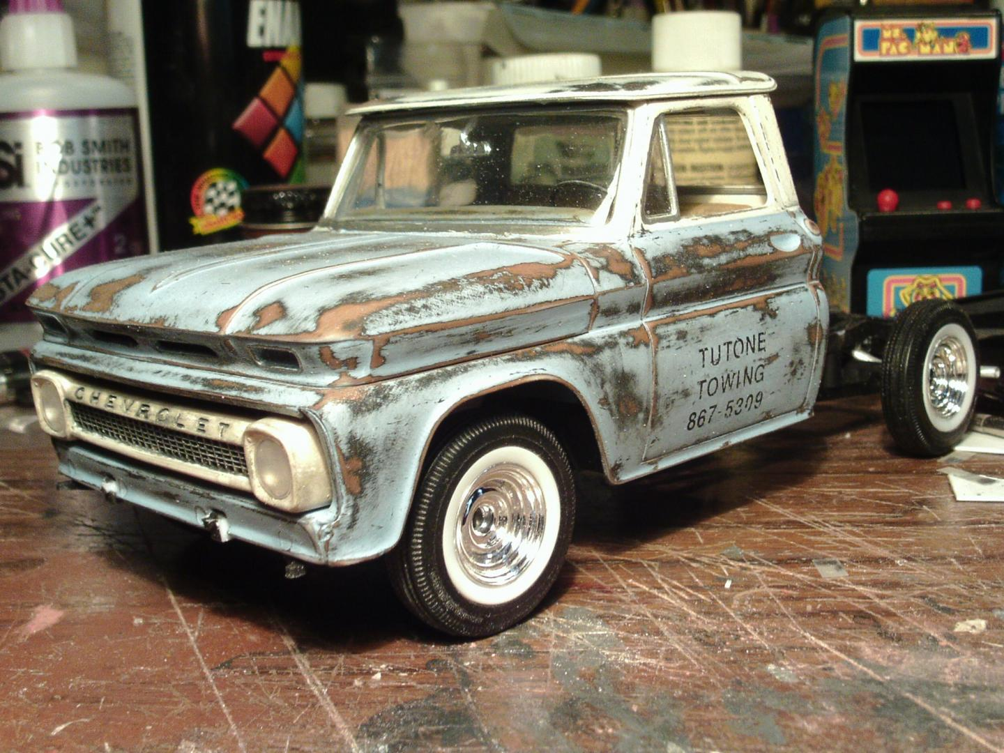 1965 Chevy Truck Quot Patina Paint Job Quot On The Workbench