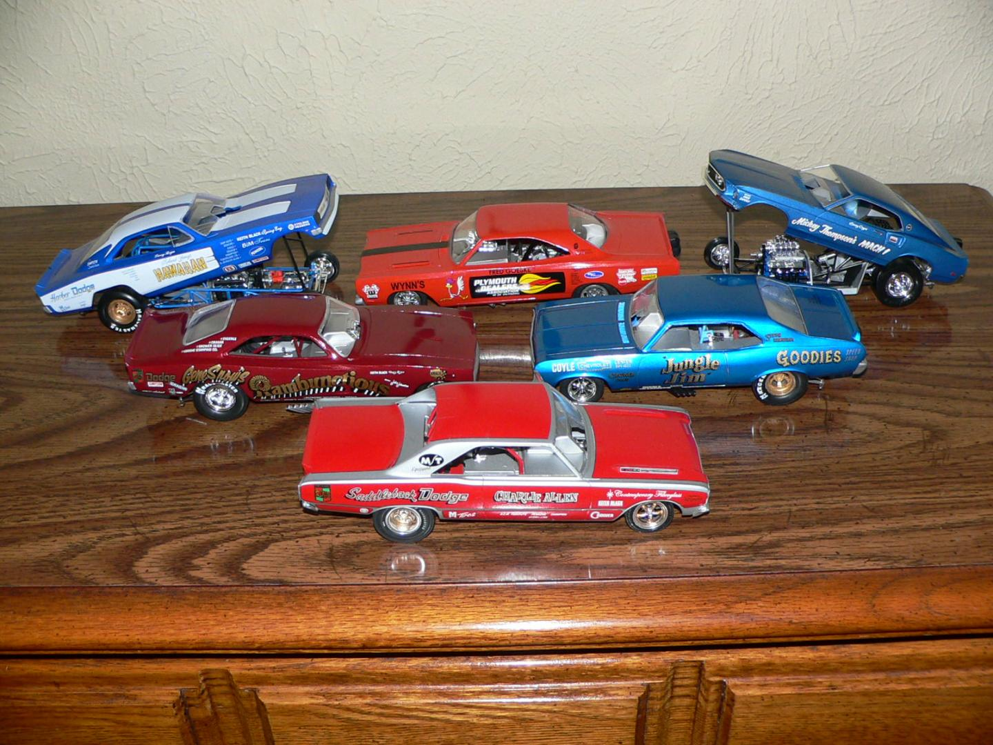 1969 Funny car collection added more parts Sept 2017.JPG