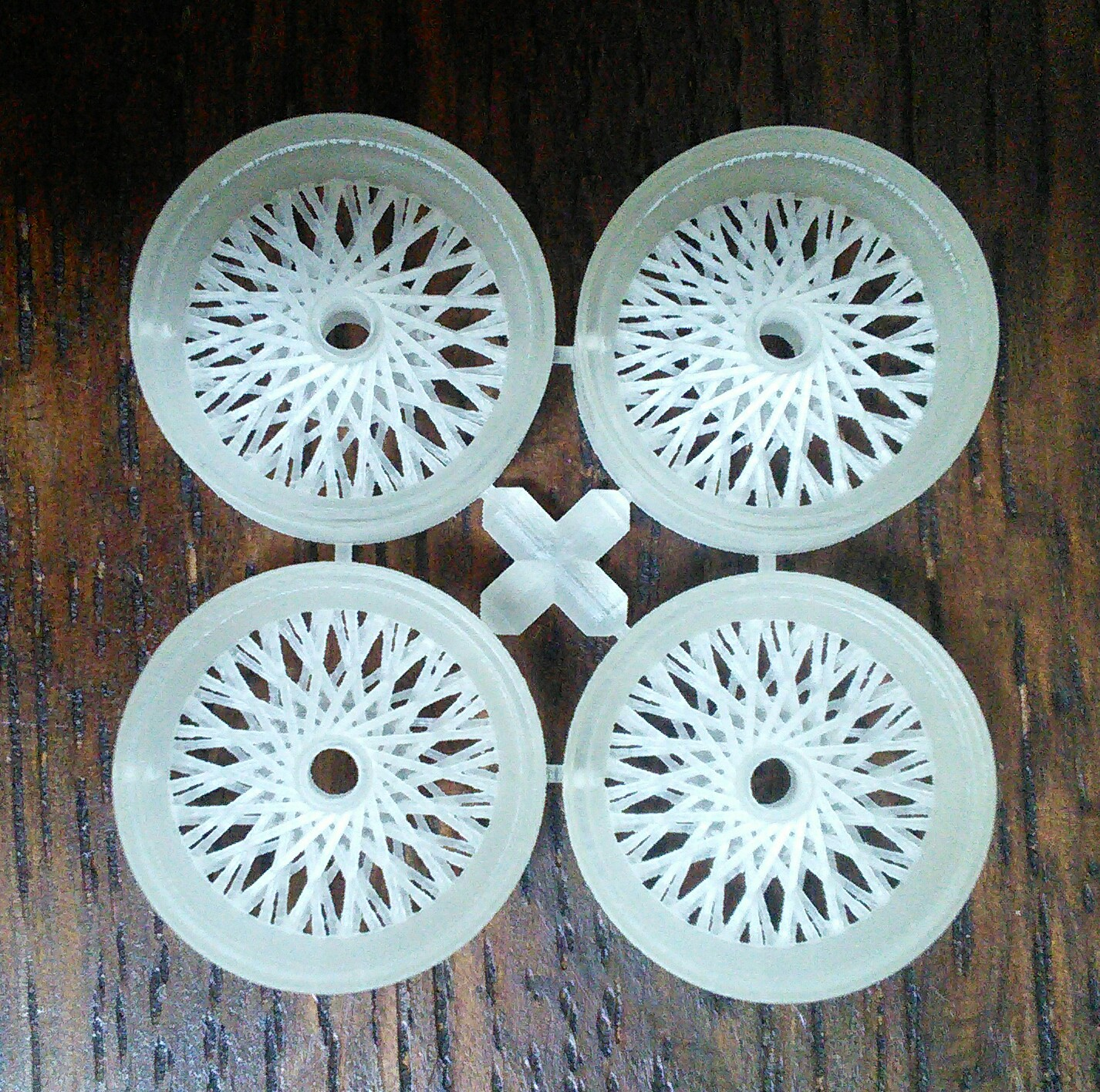 3d printed wire wheels - Car Aftermarket / Resin - Model Cars ...
