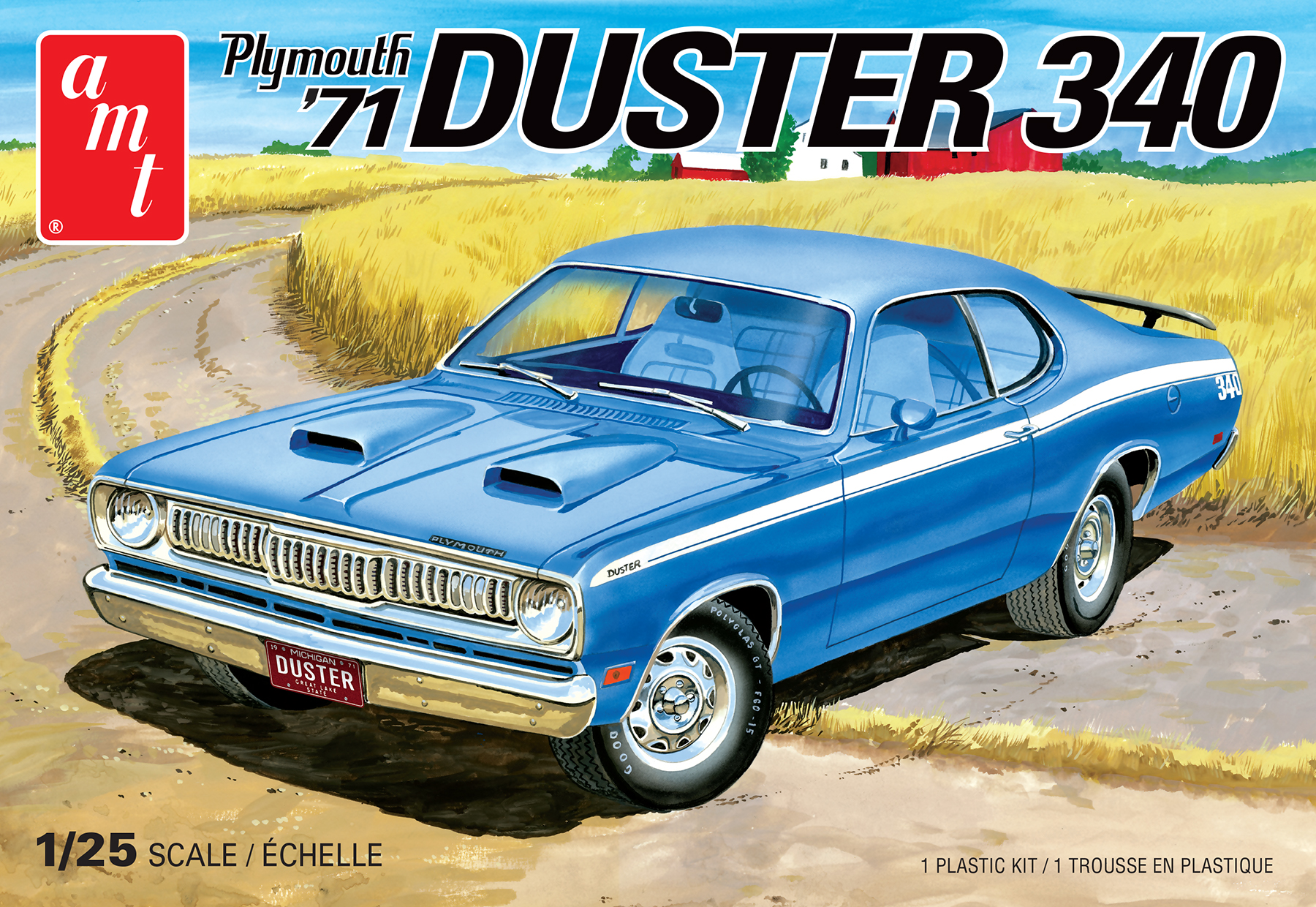 1 25 Amt 71 Plymouth Duster 340 Car Kit News Reviews Model Cars Magazine Forum
