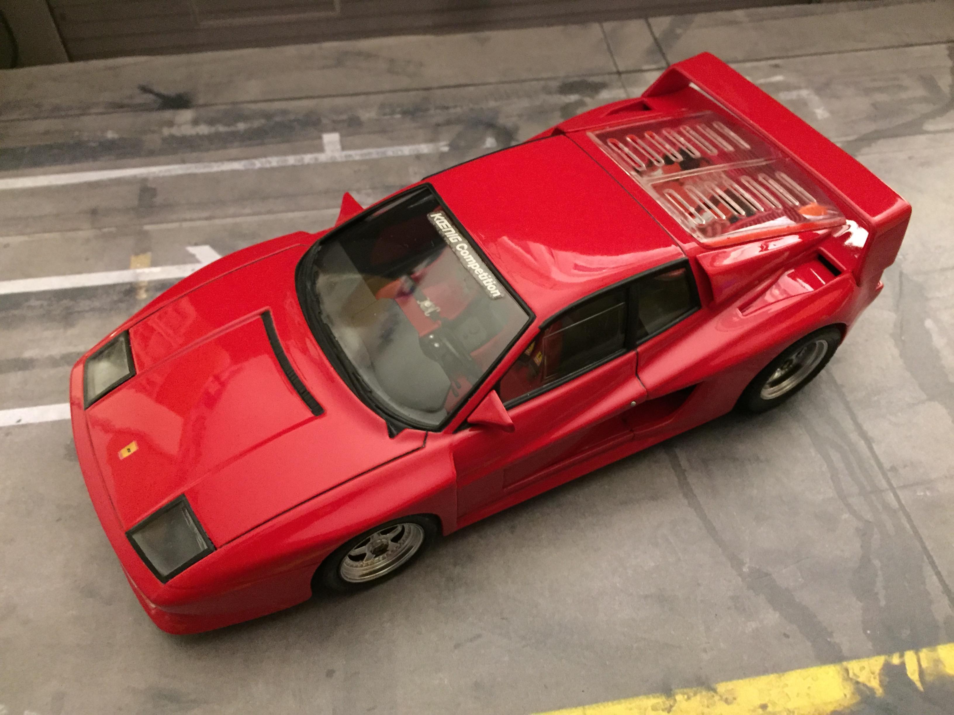 Koenig Competition Ferrari Testarossa 1 24 Scale By Fujimi Model Cars Model Cars Magazine Forum