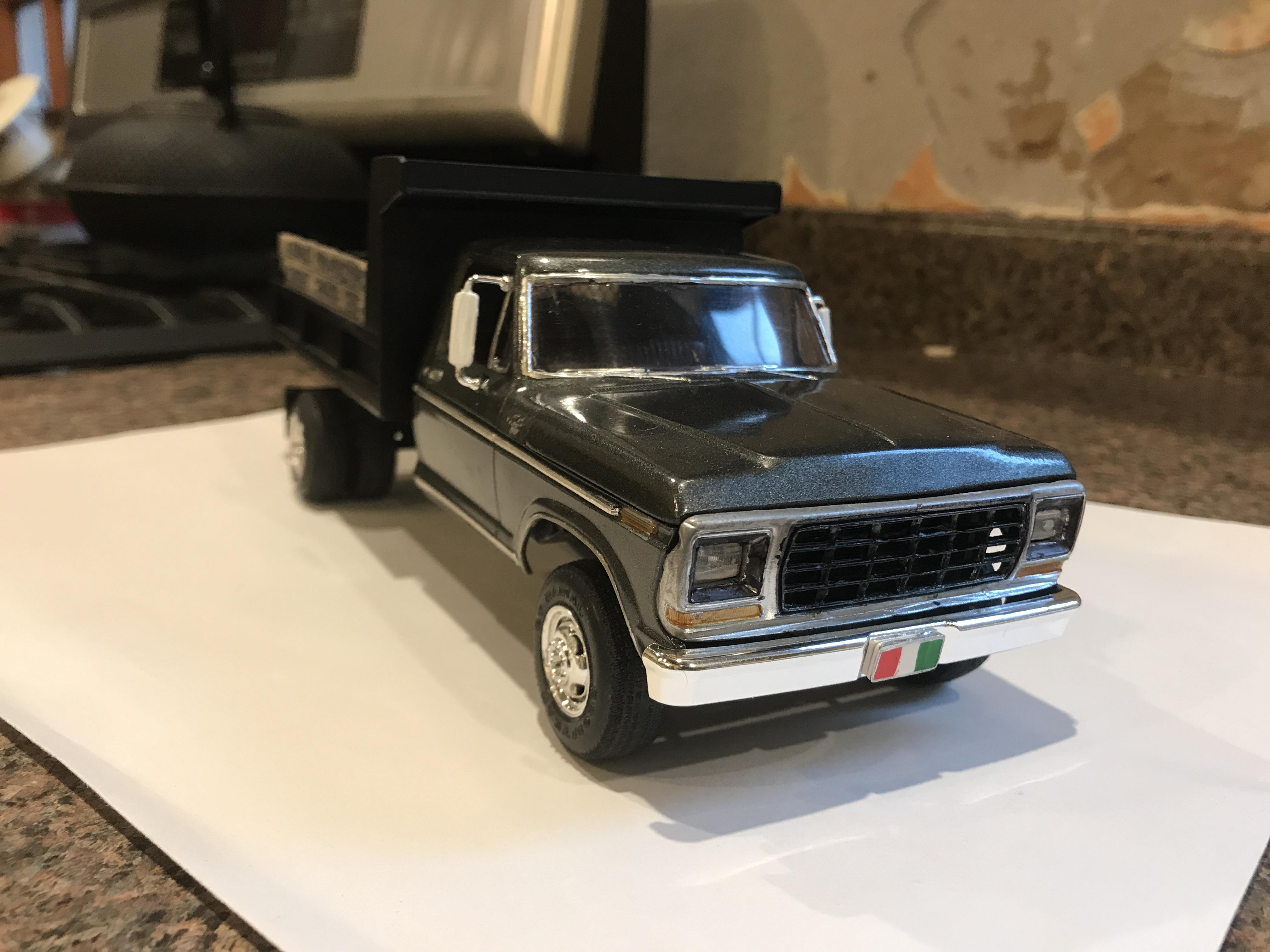 Ford dump truck - Under Glass: Pickups, Vans, SUVs, Light