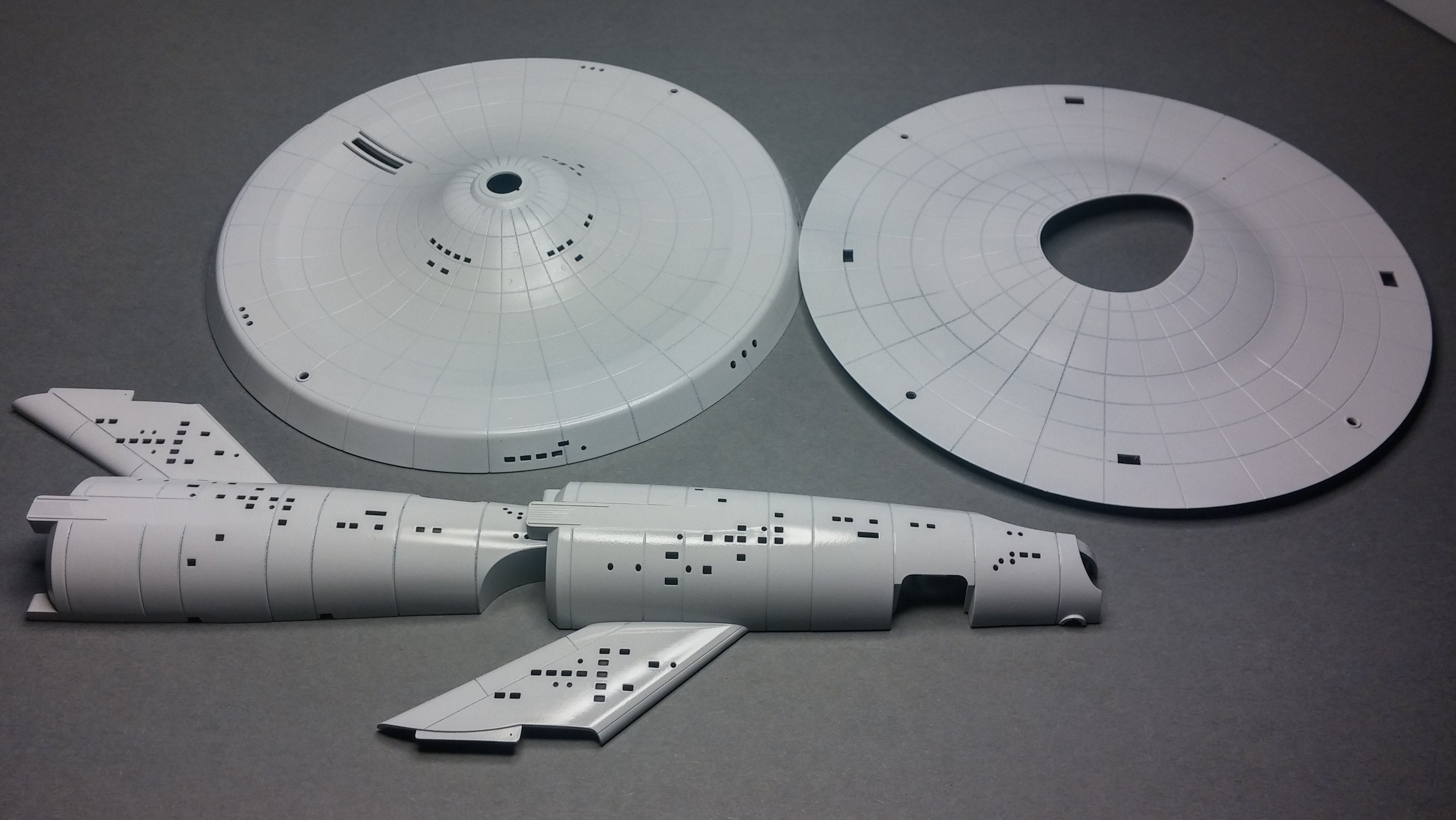 Constitution Class Starship - All the Rest - Model Cars