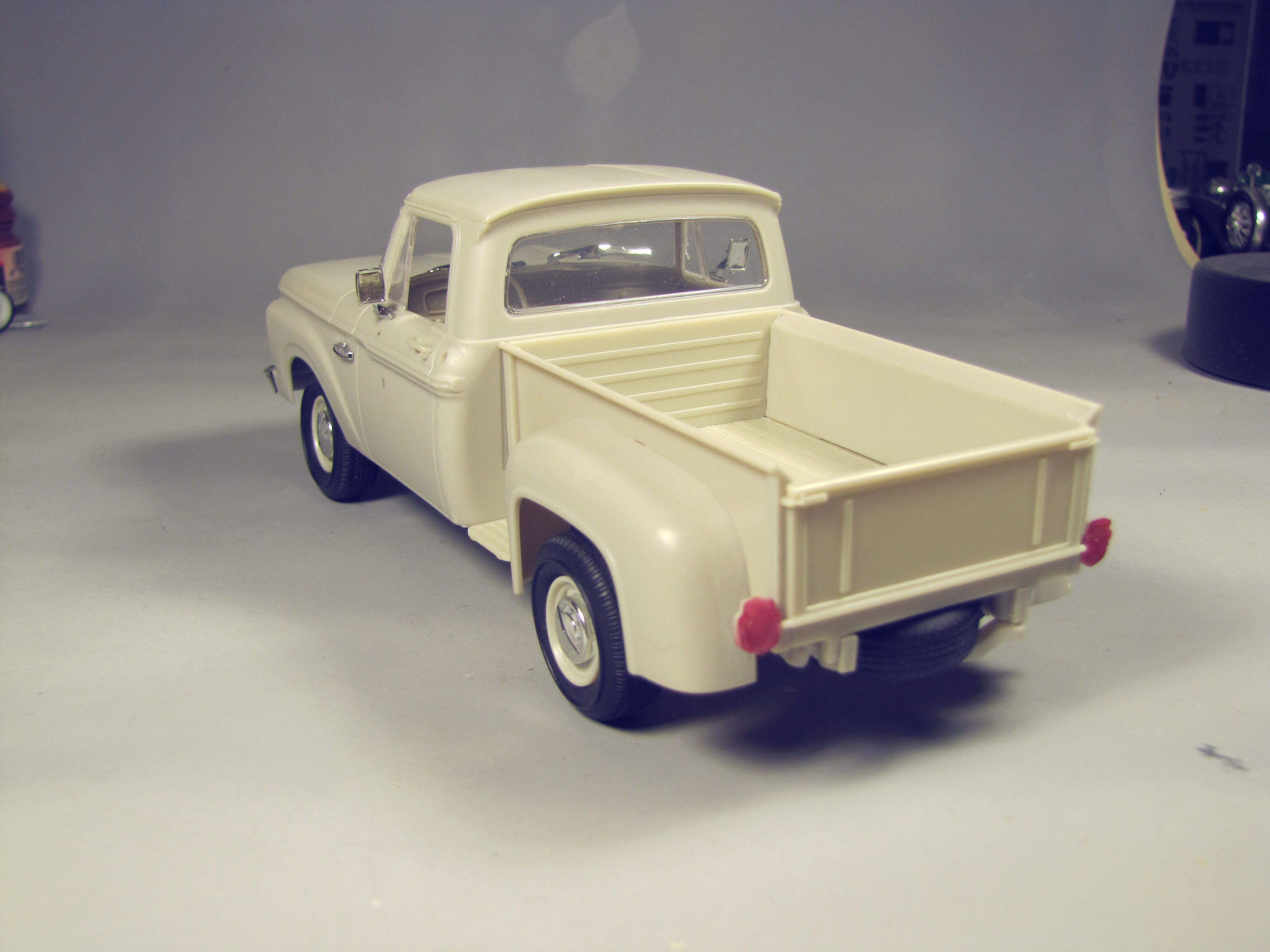 Moebius 65 F 100 Flareside Pickup Truck Kit News Reviews Model Cars Magazine Forum