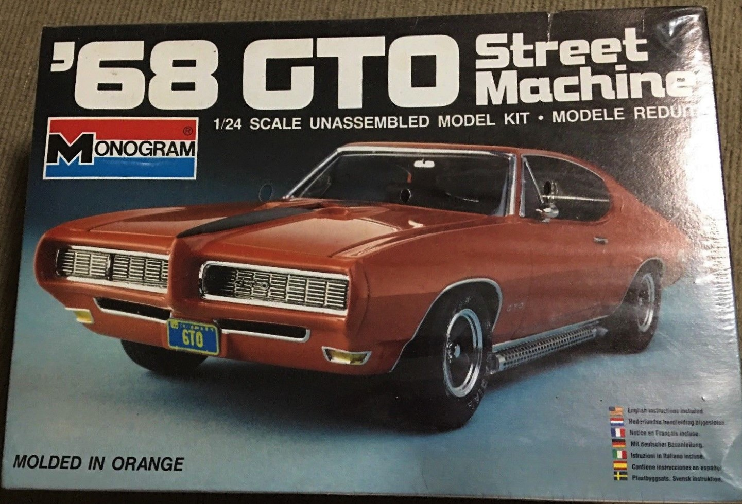 Revell 1966 and 1969 GTO - Car Kit News & Reviews - Model
