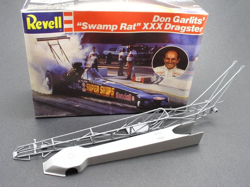 RESIN NEW STYLE TOP FUEL BODY  1//25  SCALE