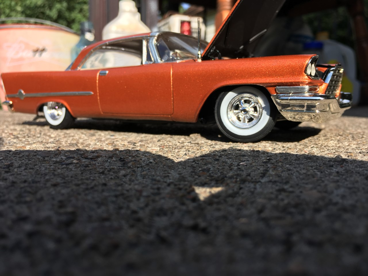 Need Burnt Orange Paint Model Building Questions And