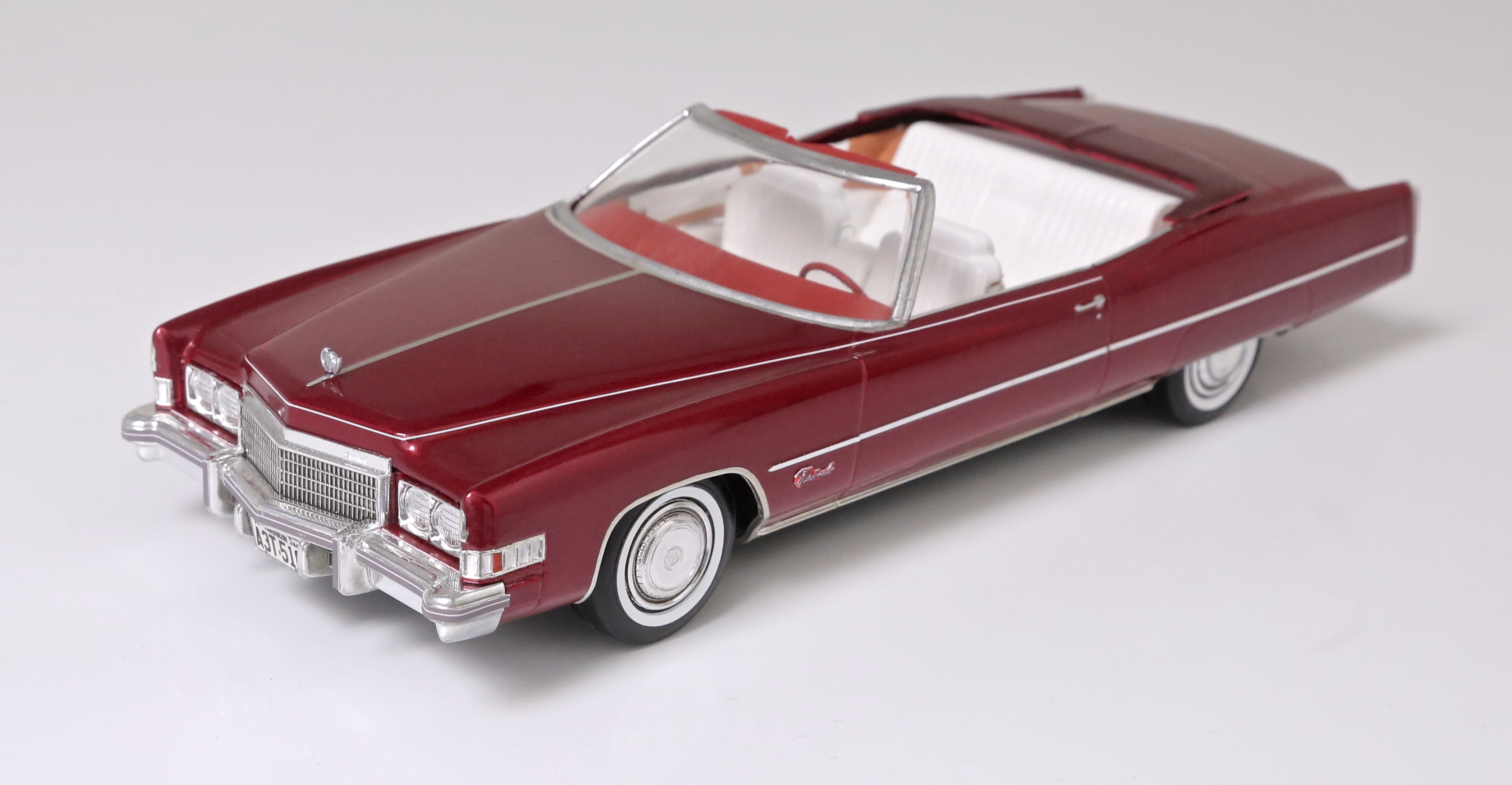 1974 Cadillac Eldorado Convertible - Under Glass - Model
