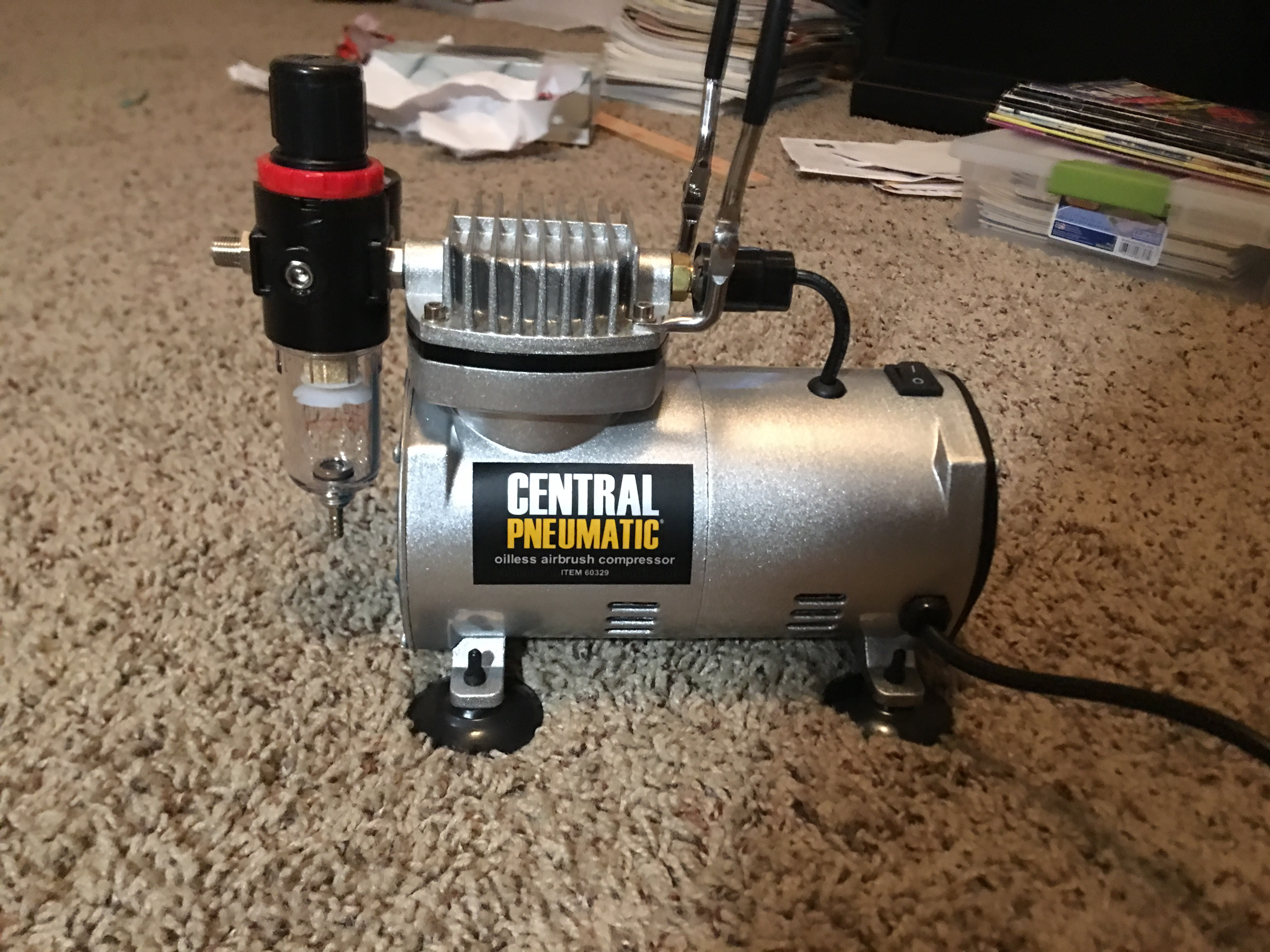 Harbor Freight Air compressor - Tips, Tricks, and Tutorials - Model