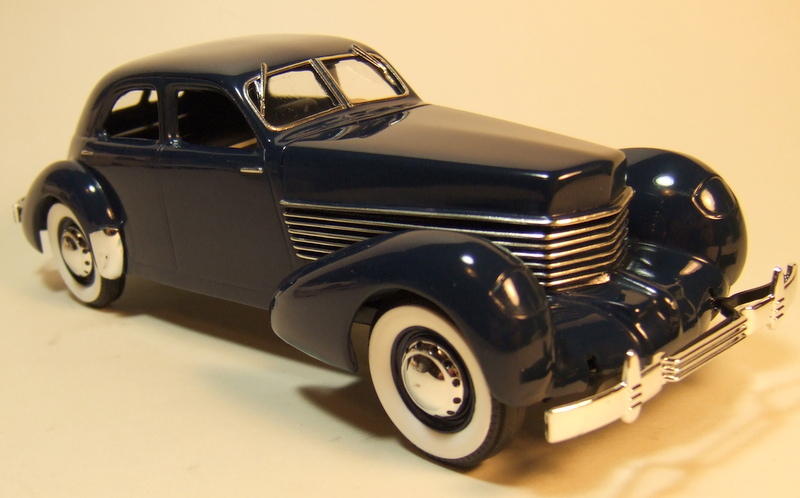 36 Cord Sedan - Under Glass - Model Cars Magazine Forum