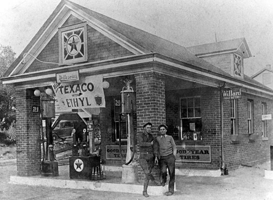 Texaco - 1930 introduction of TEXACO Ethyl. Replaced by FIRE-CHIEF Ethyl in 1932 and Sky Chief in 1938..jpg