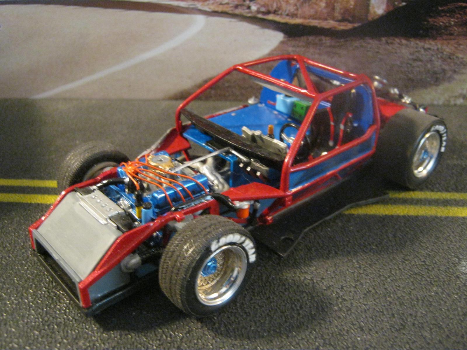 Rousch 7-11 Citgo GTO  Mustang