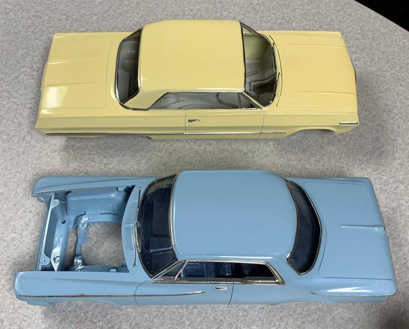 1963 Chev and 1962 Plymouth April 28,2019.jpg