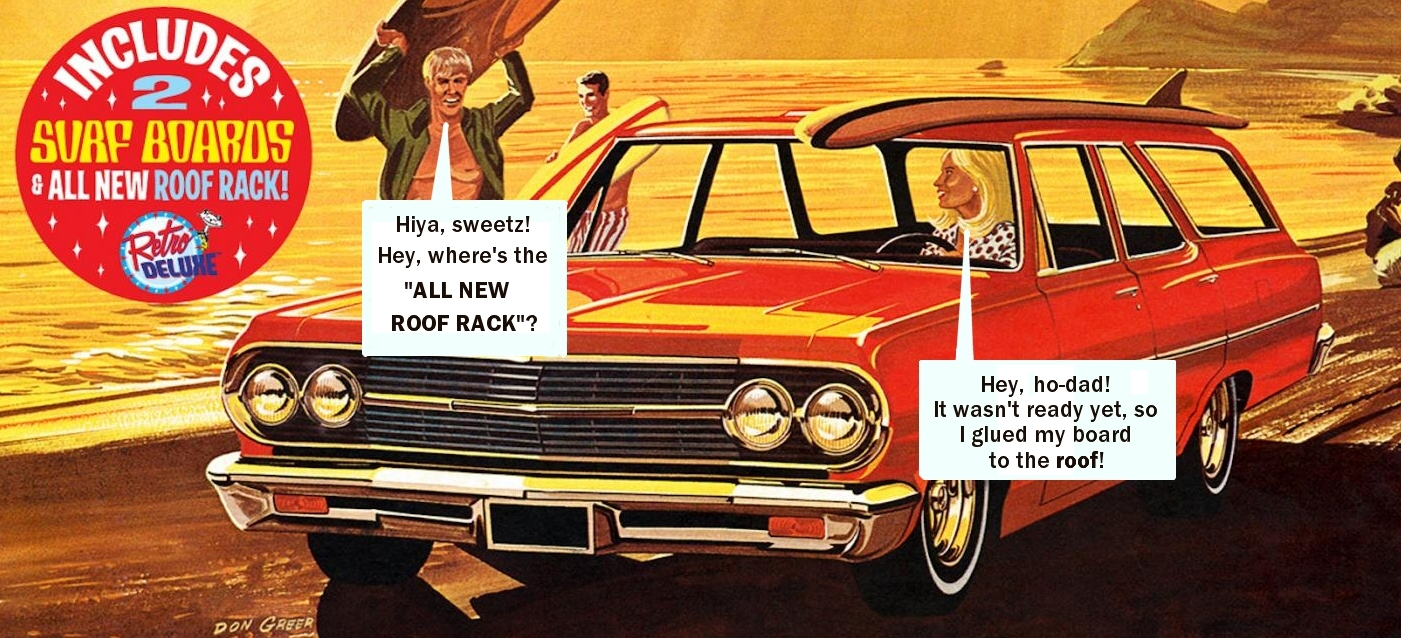 1/25 AMT '65 Chevelle Surf Wagon - Car Kit News & Reviews