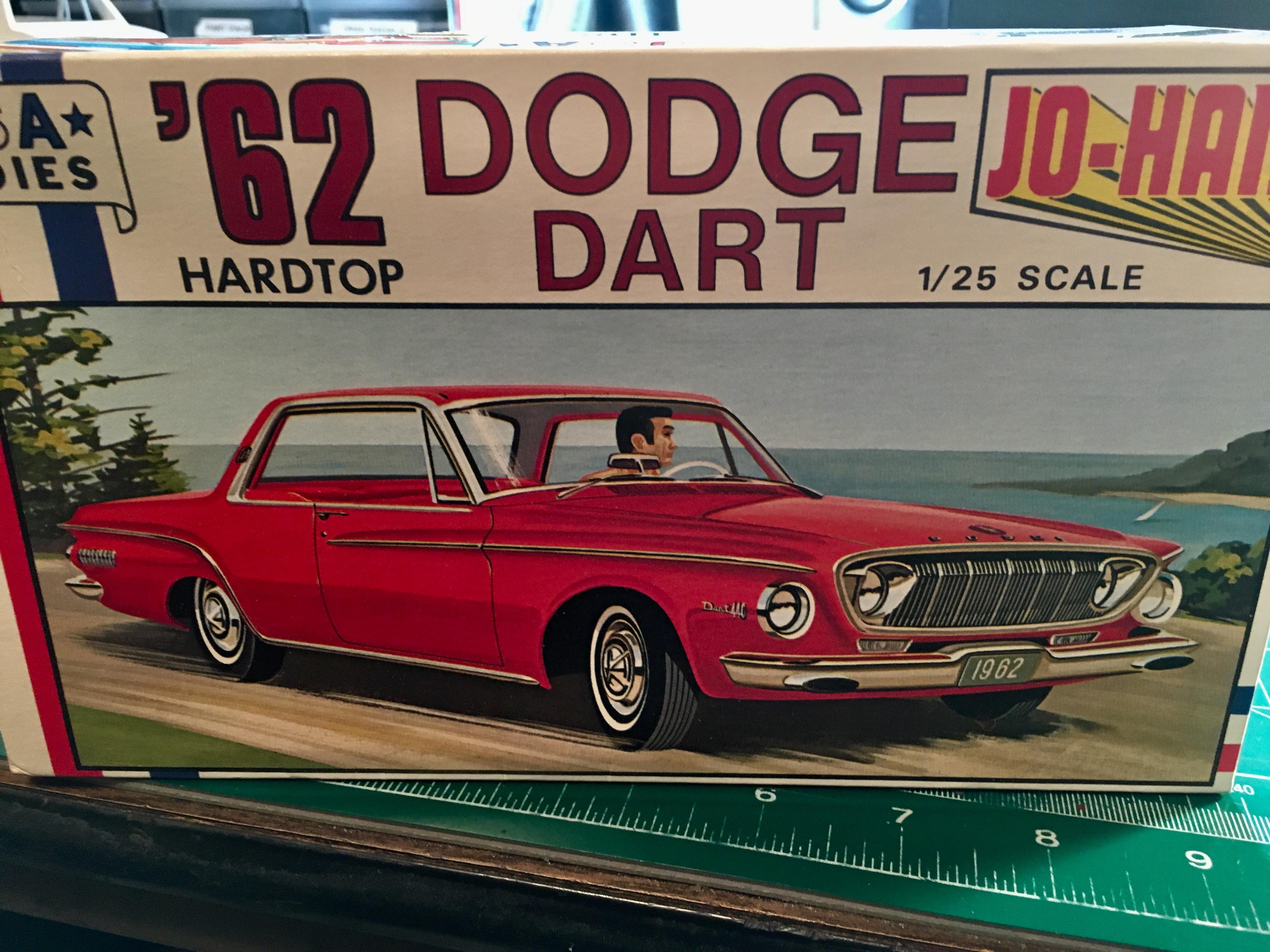 Johan 1962 Dodge Dart 413 Max Wedge Wip Model Cars Model Cars Magazine Forum
