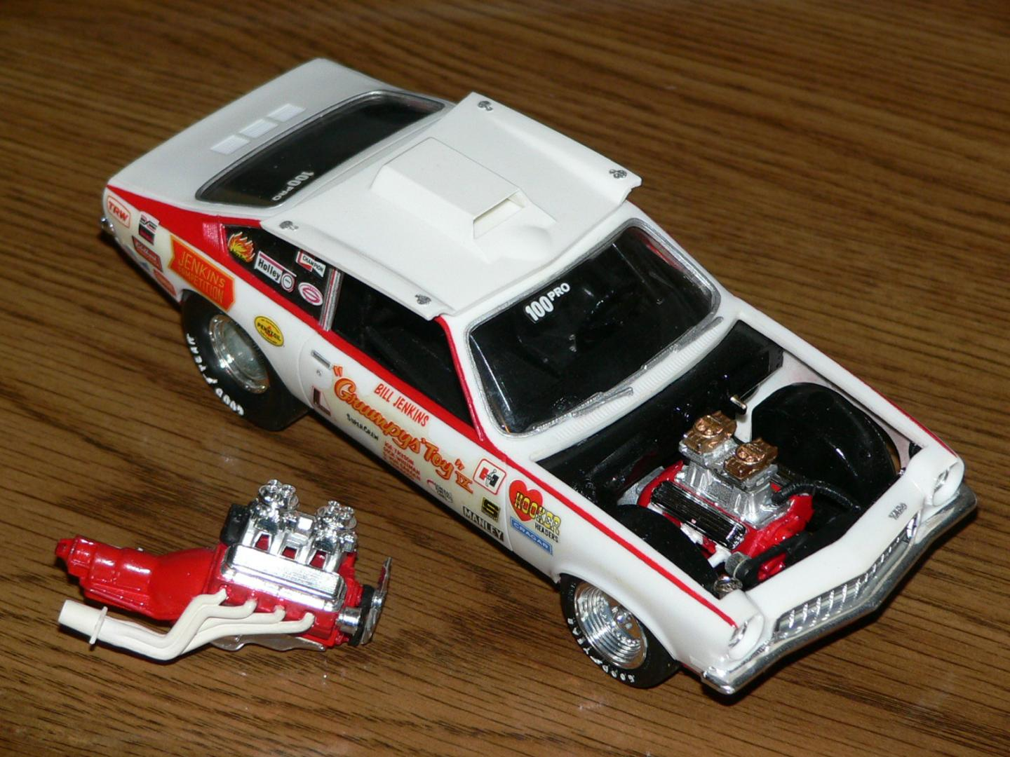 Grumpy's Toy Vega with original engine.JPG