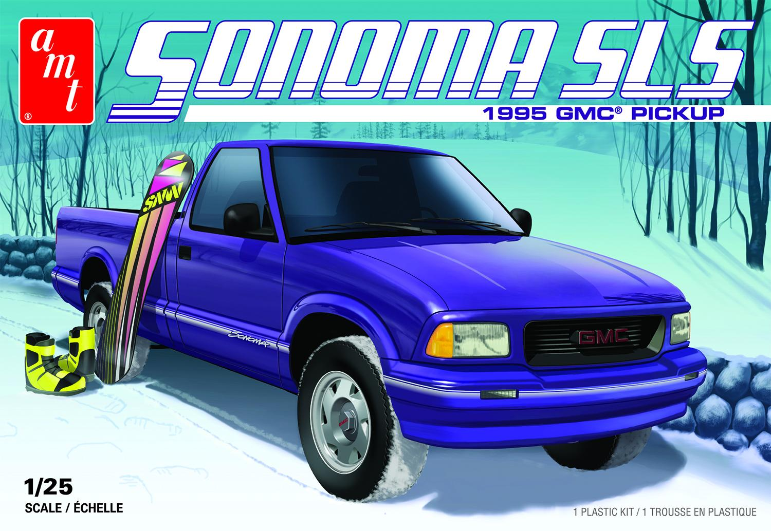 1 25 Amt 1995 Gmc Sonoma Pickup Truck Kit News Reviews Model Cars Magazine Forum