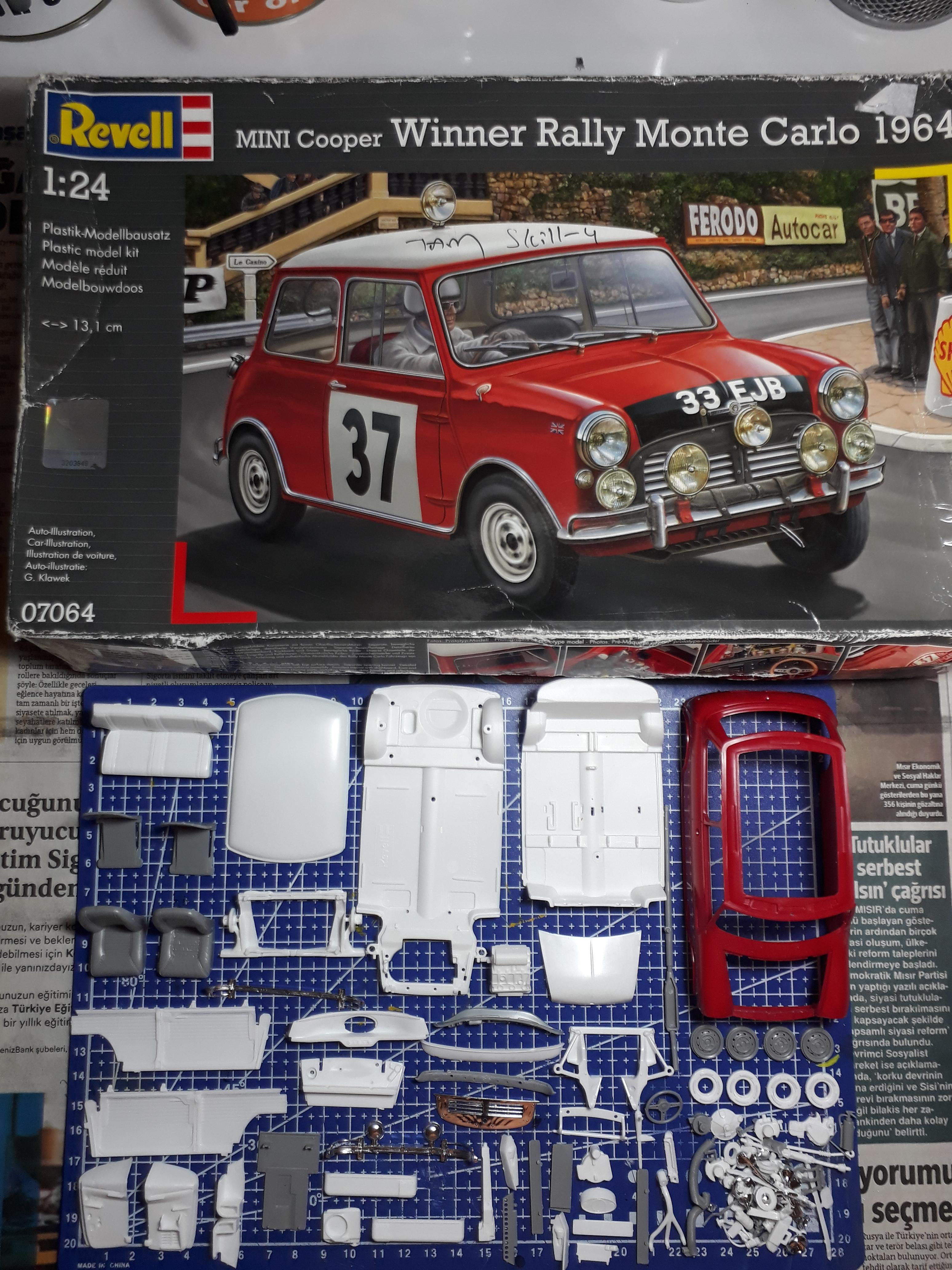 1964 Mini Cooper Revell 1 24 On The Workbench Model Cars
