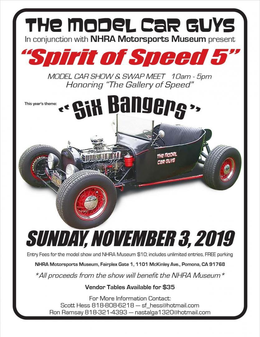 Spirit of Speed 5 Front