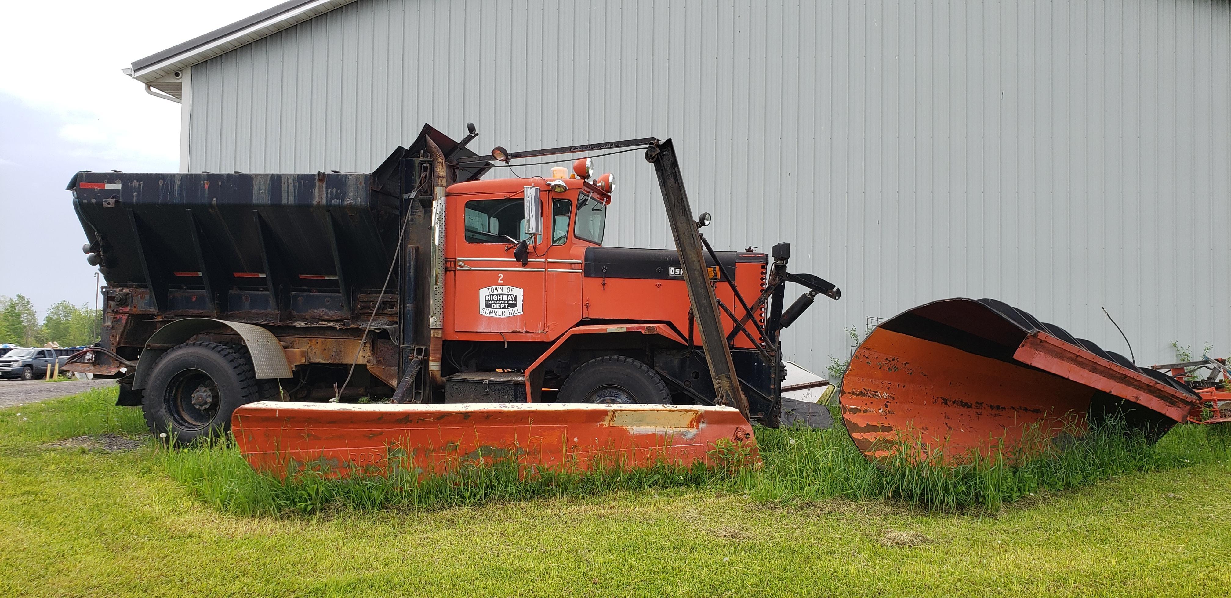 Oshkosh Snow Plow Wip Model Trucks Big Rigs And Heavy Equipment Model Cars Magazine Forum