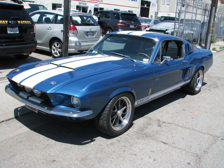 67 Mustang GT500 Guardsman Blue