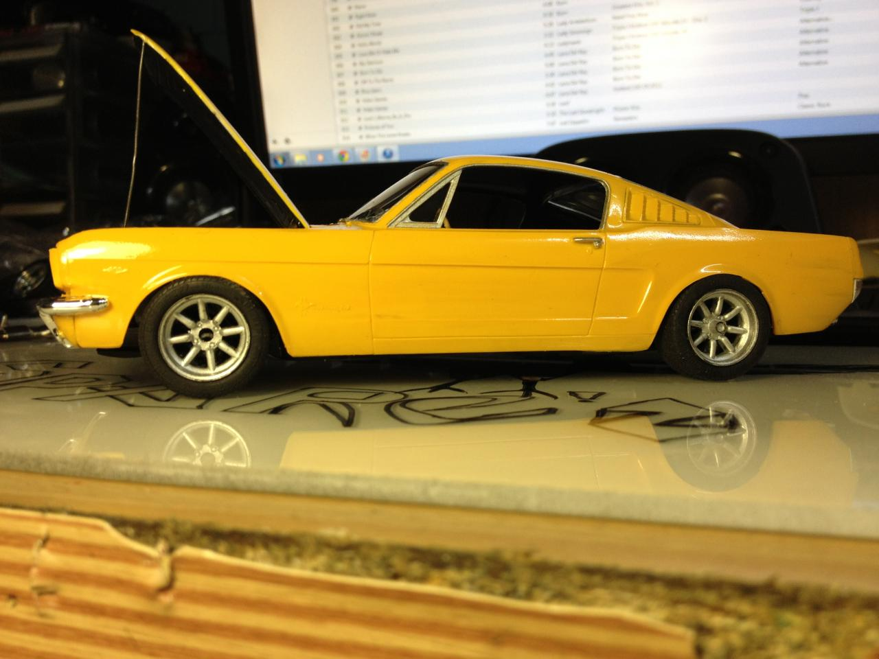65 Mustang 2 2 Fastback Under Glass Model Cars Magazine Forum