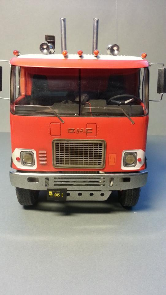 GMC Astro 95 AMT 1:25 - Under Glass: Big Rigs - Model Cars ...