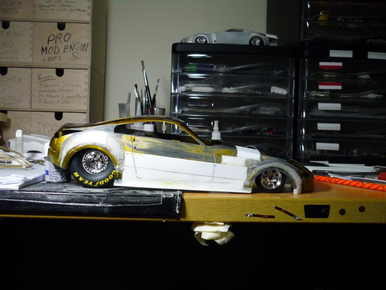350 Z Sports Compact V6 Twin Turbo. - Drag Racing Models - Model ...