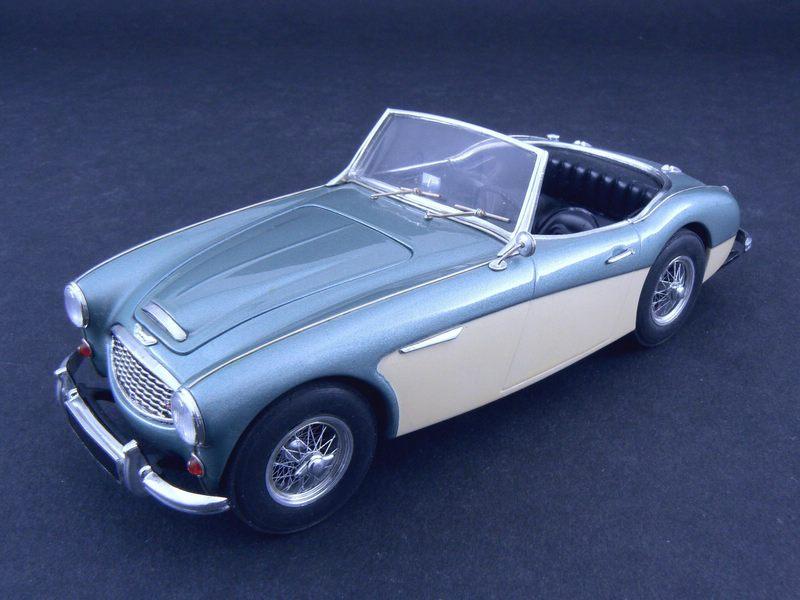 1956 Austin Healey 100 Six Under Glass Model Cars Magazine Forum