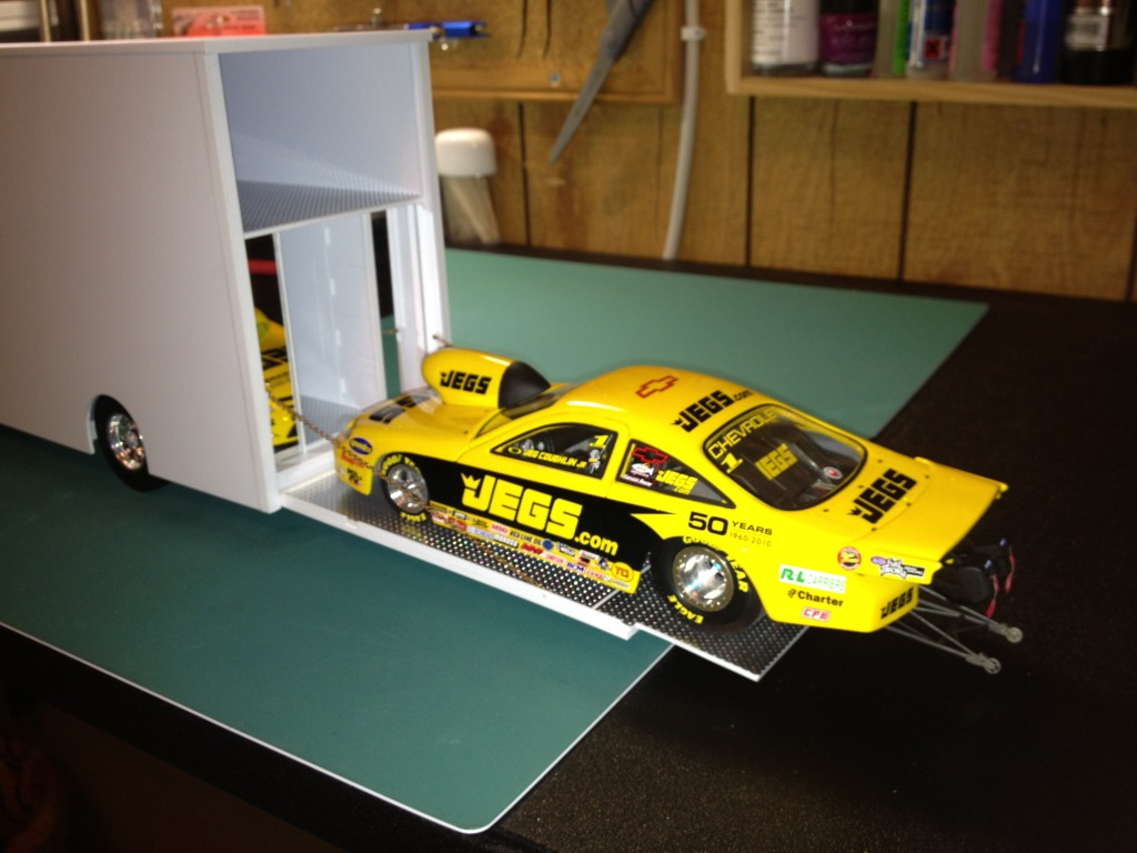 Used Cars Peoria Il >> 1/25...scratch built 53' Featherlite Race car trailer ...